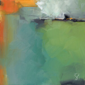 abstract sea painting by Sue Kemnitz